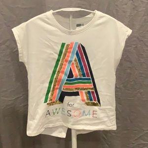 Crazy 8 short sleeve shirt - Size L (10-12) NWOT